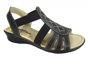 L054  - Elasticated Comfort Sandal